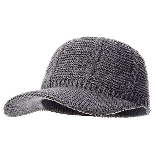 Naomi Time Knit Baseball Hat Visor Cap Naomitime Slouchy Hat Cap With Visor For Women and Girls