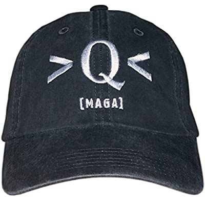 Q Hat - Where We Go One We Go All, WWG1WGA - Trump Skull Cap - QAnon Q Anonymous