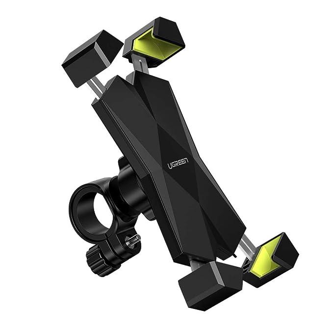 7 opinioni per UGREEN Porta Cellulare Bici, Supporto Bici Smartphone 360° Rotabile Manubrio