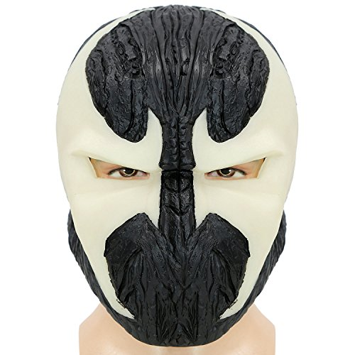 [XCOSER Adult Spawn Mask Helmet Prop for Halloween Costume PVC Glowing] (Spawn Costume For Adults)