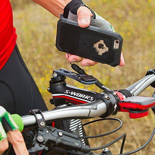 ❥ Rokform [iPhone 7 & 8 PLUS] Pro-Series Adjustable Aluminum Bike Mount / Holder & Protective Phone Case, Twist Lock & Magnetic Security orange iphone 8 plus case 6