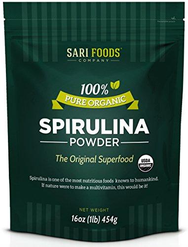 Organic Spirulina Powder (16oz...
