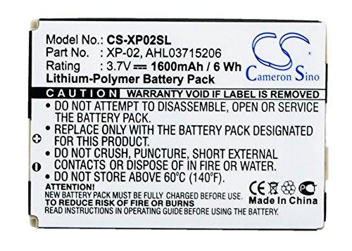 Cameron Sino 1600mAh Battery Compatible With O2 XDA Atom, XDA Atom Pure, XDA Atom Exec, XDA CometOrsio N725 - O2 Pda Battery