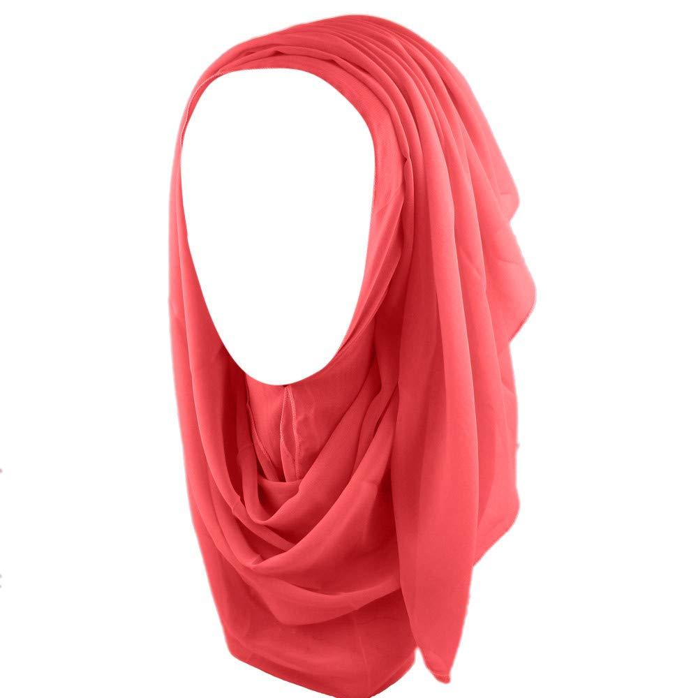 Women KIKOY Chiffon Long Scarf Muslim Hijab Arab Wrap Shawl Headwear wholesale by KikoyClothingAccessories (Image #1)