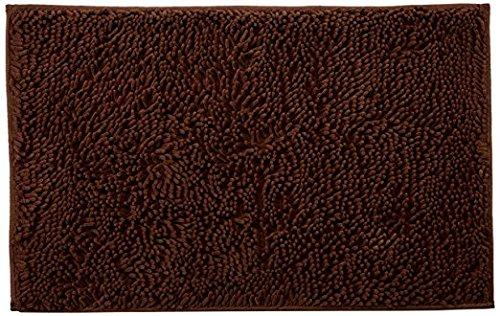 VDOMUS Non-slip Microfiber Shag Bathroom Mat, 20 x 32-Inches