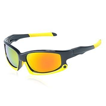 Lanlan Gafas bicicleta, ciclismo, gafas de sol Gafas polarizadas 9 Capa de revestimiento gafas