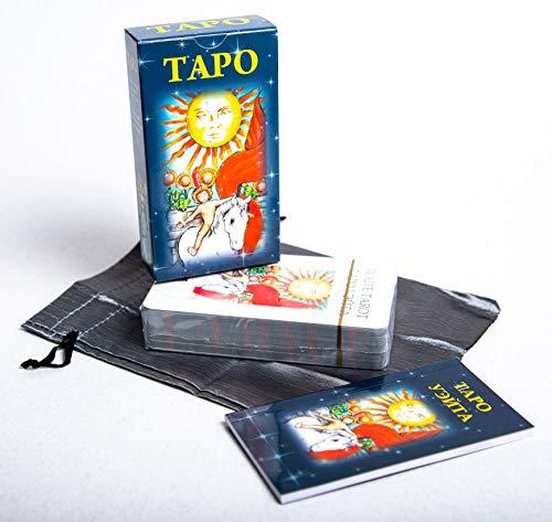 78 Tarot Card Deck Rider Waite Russian Manual 2017 GOOD OSTARA by Unknown (Image #2)