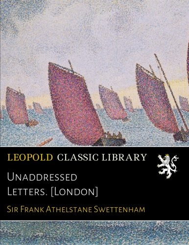 Download Unaddressed Letters. [London] pdf