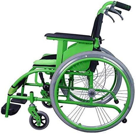 折りたたみ車椅子は超軽量のサポートを運ぶために車椅子での障害者を運ぶためにザ・プレーン、簡単に行うことができます
