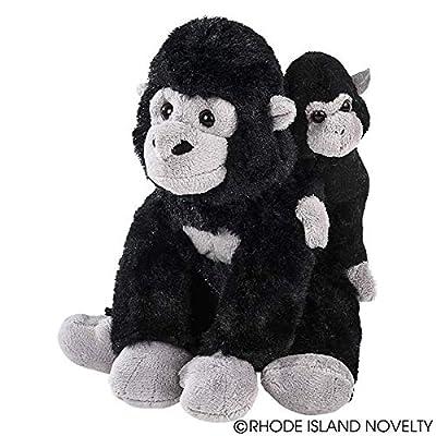 Adventure Planet Mini Birth of Life Gorilla with Baby Plush: Toys & Games