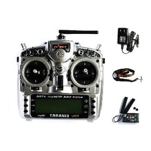 FrSky Taranis X9D Plus Transmitter and X8R Receiver with Mode2 for FPV Quadcopters