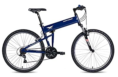 2016 Montague Paratrooper Express 18 Speed Folding Full Size Mountain Bike