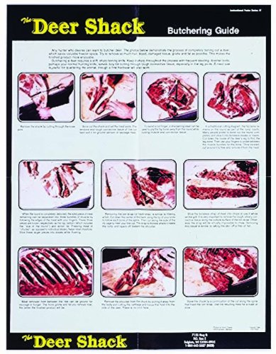 Deer Butchering Guide Poster