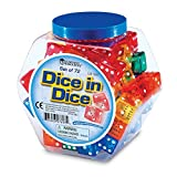 LEARNING RESOURCES DICE IN DICE (Set of 6)
