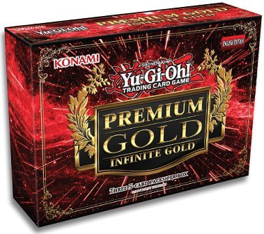 YuGiOh Premium Gold Infinite Gold Mini Box