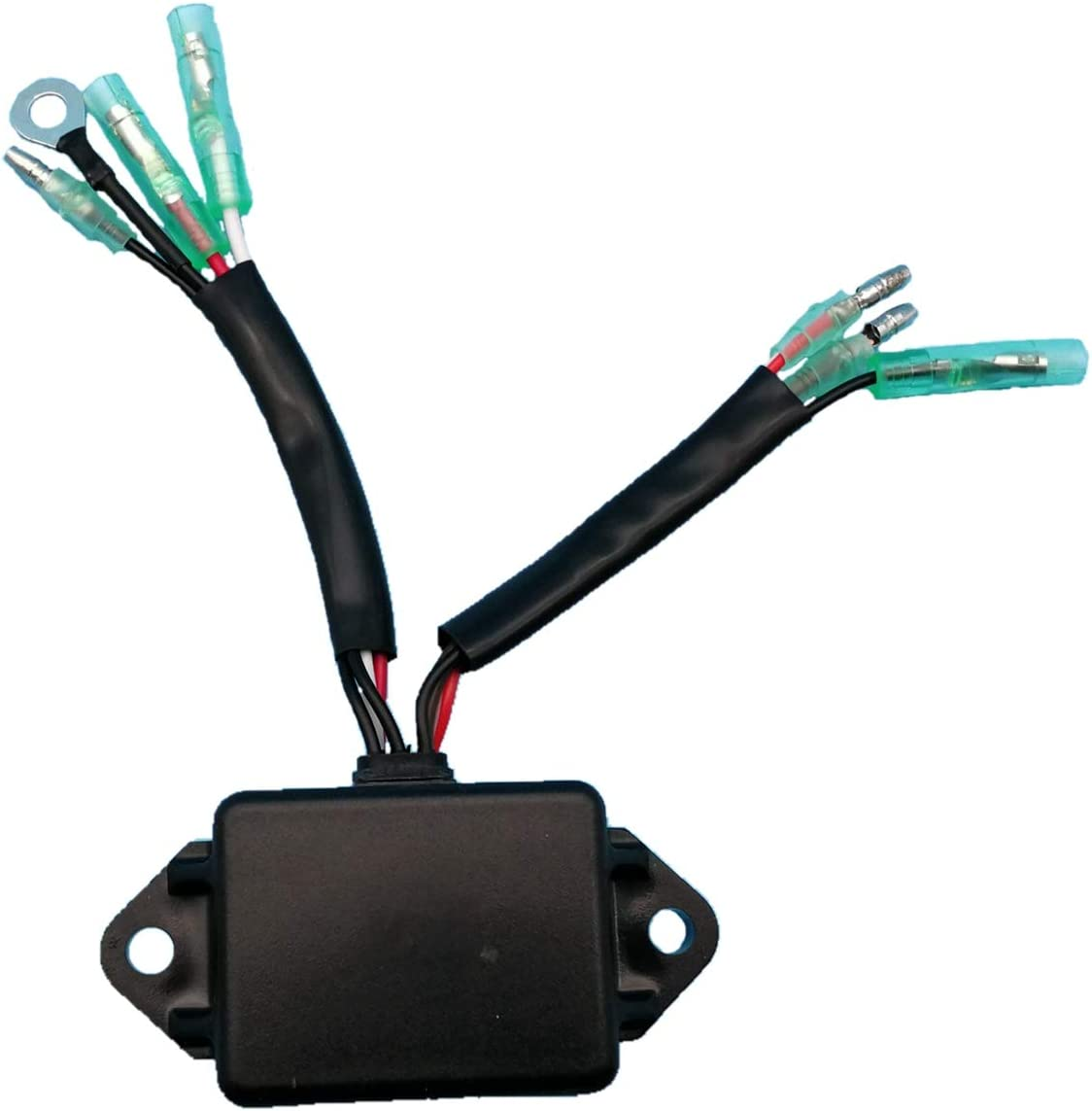 Tuzliufi Replace CDI Box Yamaha 9.9 15 25 Hp Outboard Marine Engine 695-85540-10 695-85540-11 695-85540-12 7 Wires 1984 1985 1986 1987 1988 1989 1990 1991 1992 1993 1994 1995 1996 1997 New Z231