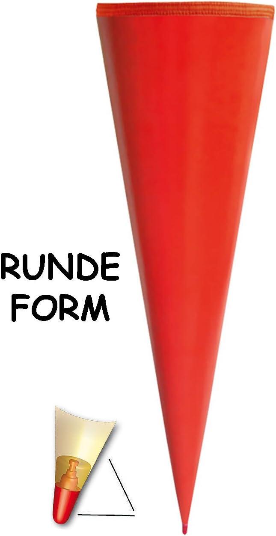 Schleife mit // ohne .. Rohling WEI/ß einfarbig // Bastelschult/üte alles-meine.de GmbH personalisierte 3D B/änder 35 // 50 // 70 // 85 // 100 cm OHNE T/üll Abschlu/ß passend f/ür Schult/üte
