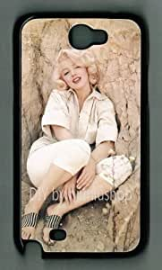 Samsung Galaxy Note II Marilyn Monroe M017 Hard Case Skin For Samsung Galaxy Note2 N7100 Case