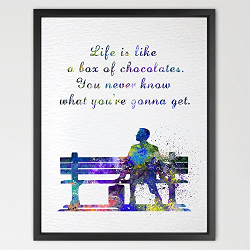 Dignovel Studios 8X10 Forrest Gump Quotes Inspired for sale  Delivered anywhere in USA