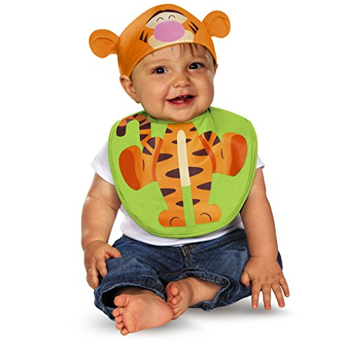Pooh Bib With Hat Costumes (Winnie the Pooh or Tigger Bib and Hat Set (Tigger))
