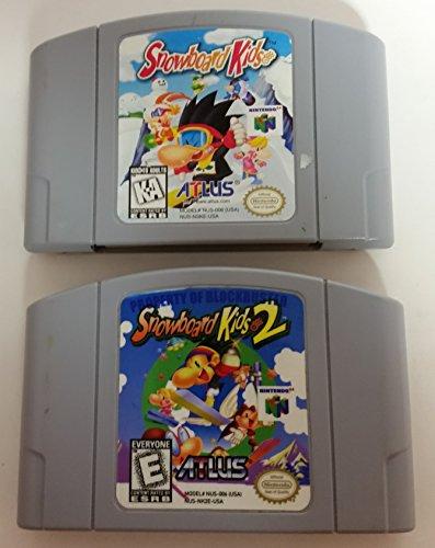 64 Nintendo Game Snowboarding - Snowboard Kids 1 & 2 Bundle - Nintendo 64