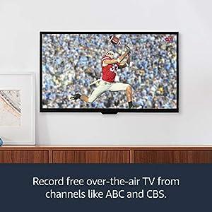 Fire TV Recast, over-the-air DVR, 1 TB, 150 hours