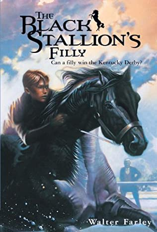 book cover of The Black Stallion\'s Filly
