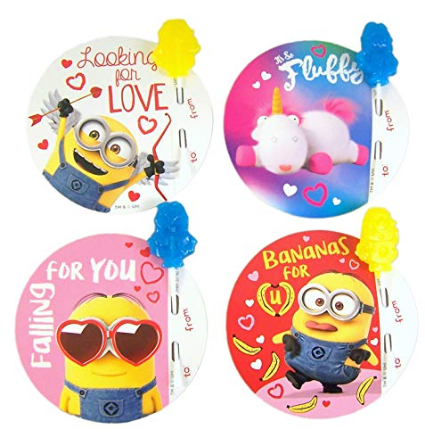 Despicable Me Minions Friendship Exchange with Lollipops, 28 Count]()