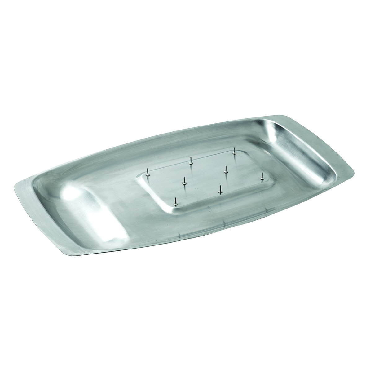 Dexam Chichester carving dish with spikes, s/s 45 x 27cm