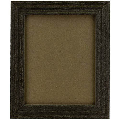 Craig Frames 1.5DRIFTWOODBK 8.5x11 Picture/Poster Frame, Wood Grain Finish, 1-1/2-Inch Wide, Distressed Black - Black Wood Distressed Picture Frames