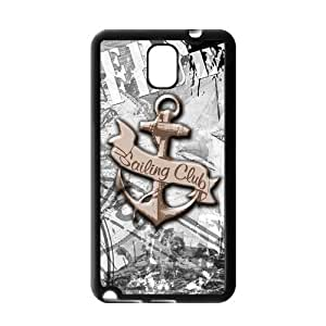Danny Store Anchor Protective Gel Rubber Back Fits Cover Case for SamSung Galaxy Note 3