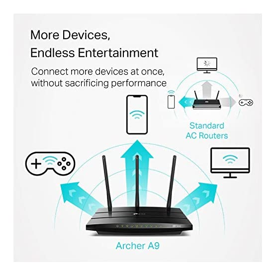 TP-Link AC1900 Smart WiFi Router - High Speed MU- MIMO Router, Dual Band, Gigabit, VPN Server, Beamforming, Smart… 51o%2BWc0Z3TL. SS555
