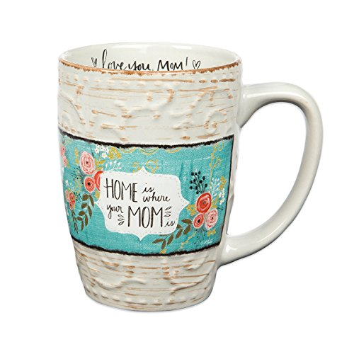 Home Sweet Home Mug - Brownlow Gifts Simple Inspirations Ceramic Gift Mug, 12-Ounces, Your Your Mom