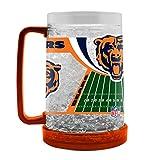 NFL Chicago Bears 16oz Crystal Freezer Mug