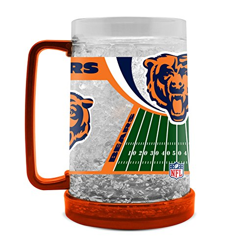 NFL Chicago Bears 16oz Crystal Freezer Mug -