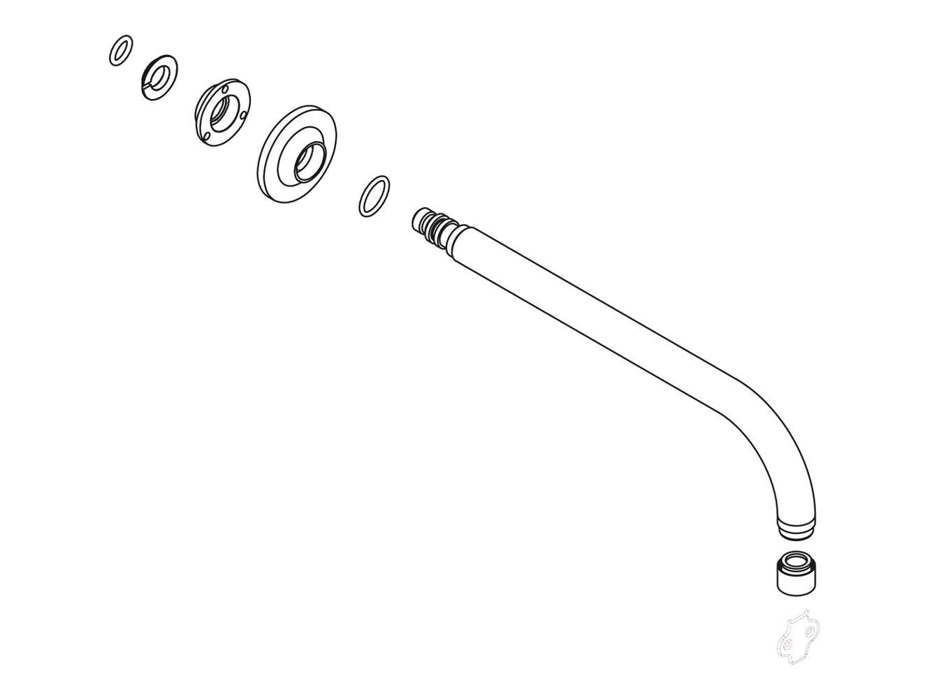 KOHLER 1114104-VS Part Vibrant Stainless