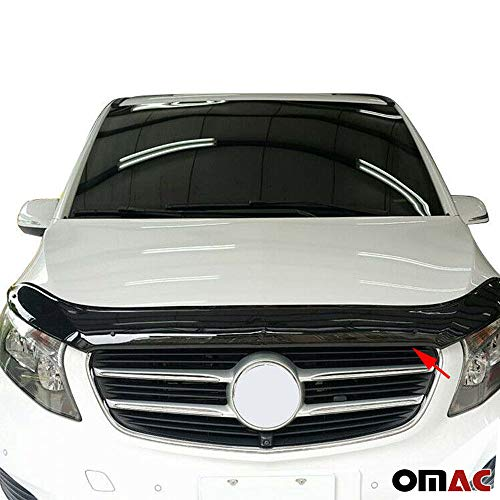 OMAC USA Front Bug Shield Hood Deflector Guard Bonnet Protector for Mercedes METRIS - Front Bug Shield