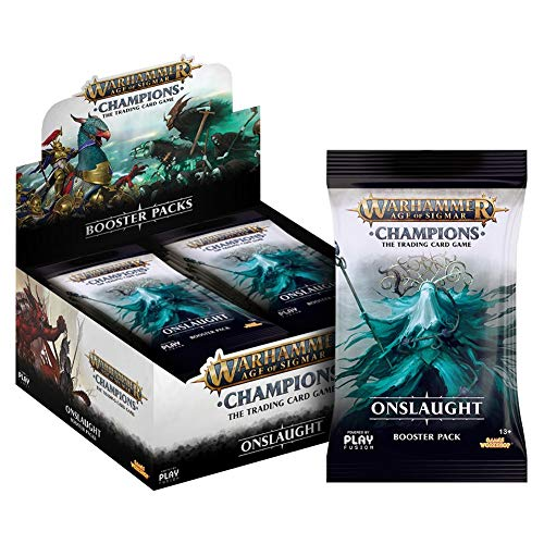 PlayFusion Warhammer Age of Sigmar: Champions Wave 2: Onslaught Booster Display (24) englis from PlayFusions