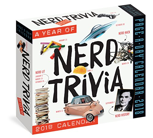 Science Trivia (A Year of Nerd Trivia Page-A-Day Calendar 2018)