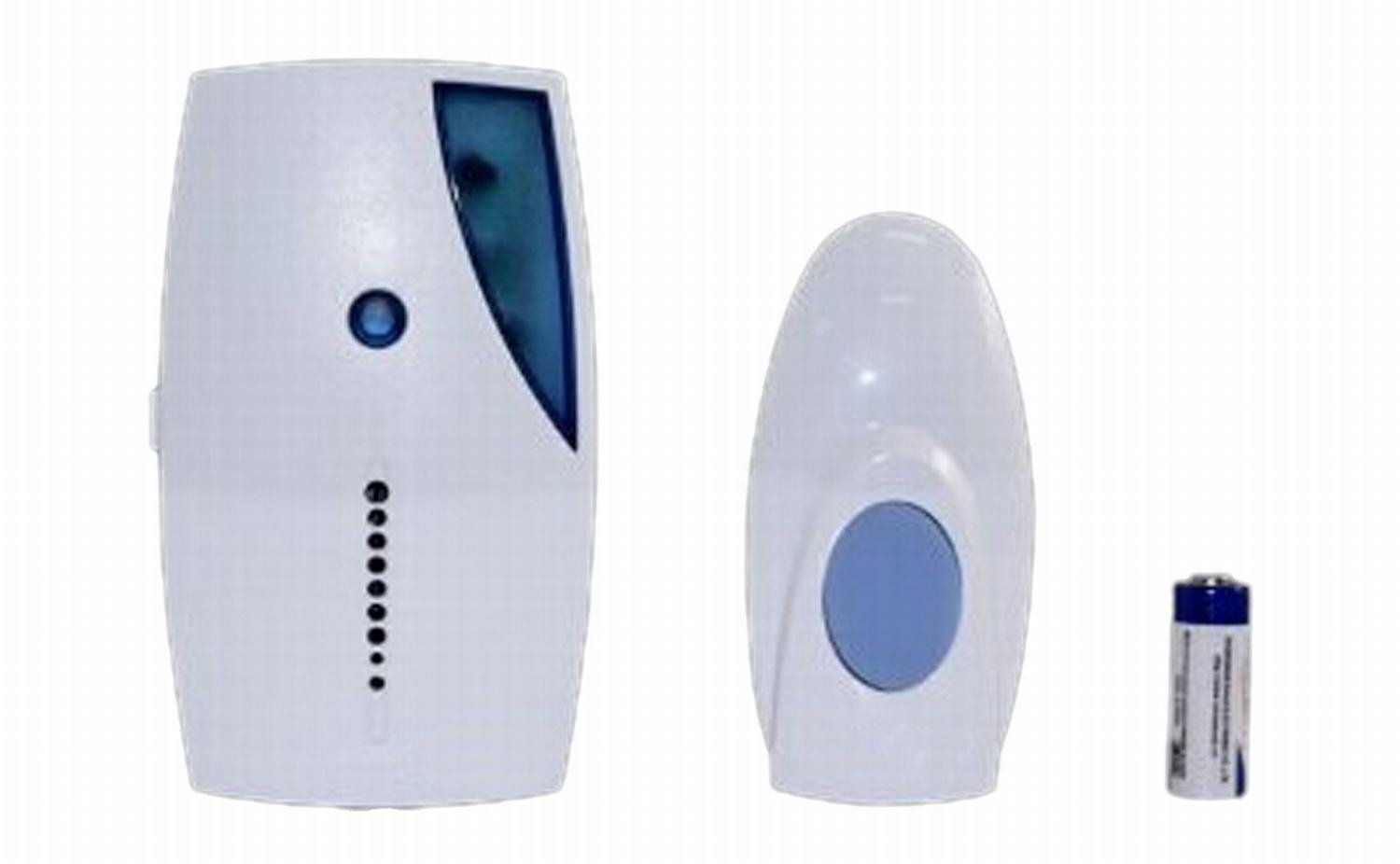 kits with chimes db bell button p kit in white wireless push plug door