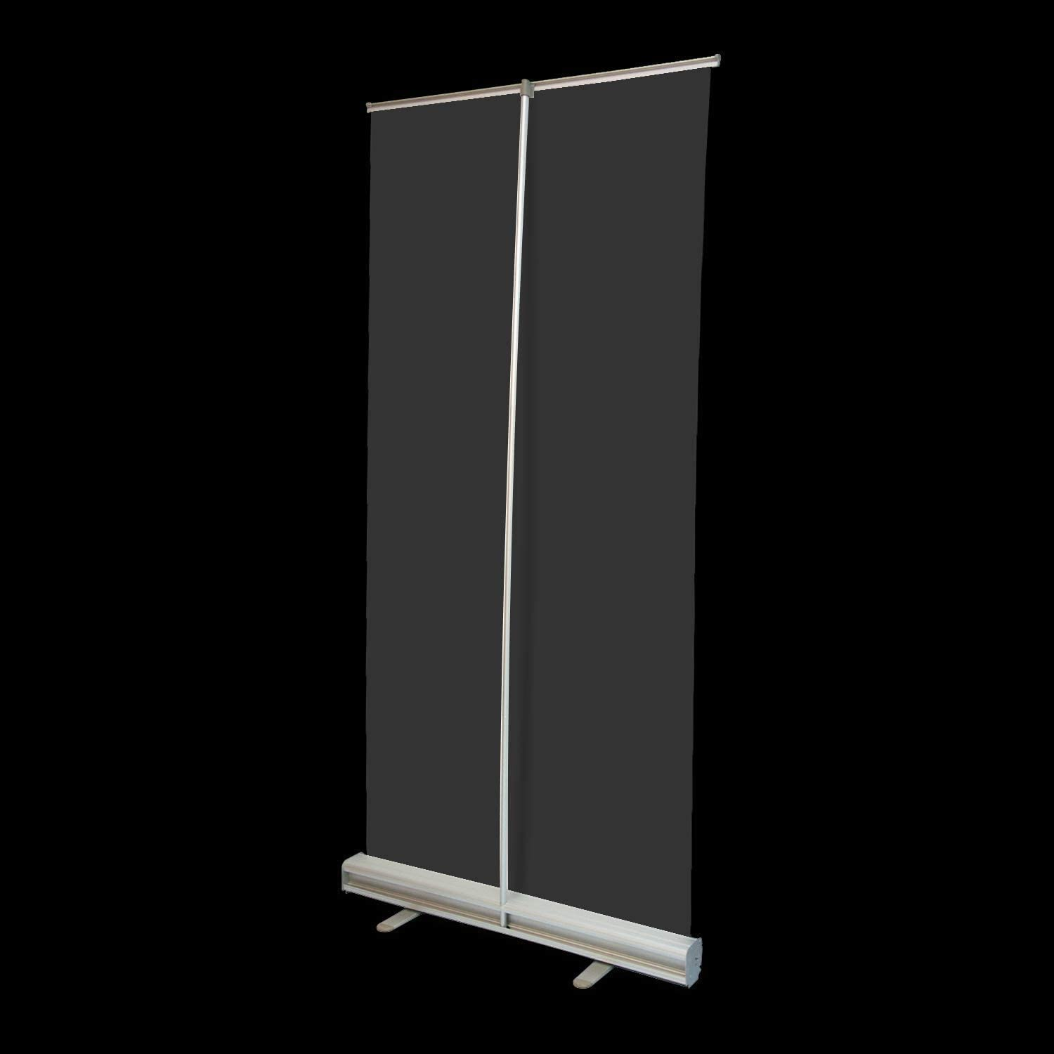 Clear Film Protective Shield for Cafes Cashier Retail Stores Full Tarp with Roll Up Stand Free Standing Isolation Barrier Receptionist 2 X 5 YZPFSD Floor Standing Sneeze Guard Office