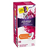 Always discreet Liners for Bladder Leaks Extra Protection 30 ea (Pack of 12)