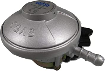 Regulador de gas butano con clip, 20 mm