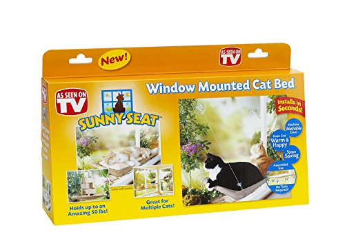 Sunny Seat Window-Mounted Cat Bed