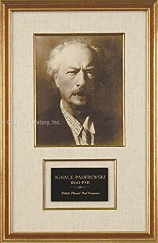 Ignacy Jan Paderewski - Photograph Signed 09/23/1940 (Relocate To France)