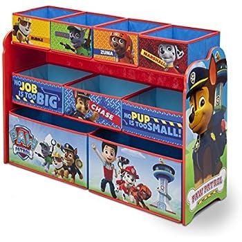 Delta Children Deluxe 9-Bin Toy Storage Organizer, Nick Jr. PAW Patrol