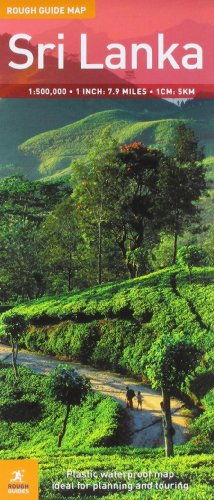 Rough Guide Map Sri Lanka 2 (Rough Guide Country/Region Map)