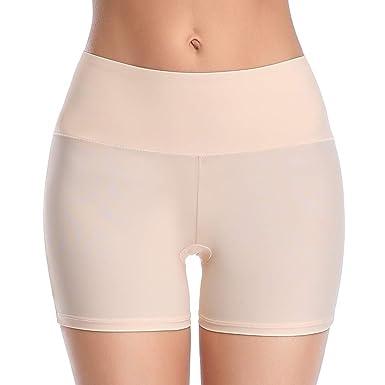 Joyshaper - Pantalón Corto para Mujer con Falda de Seguridad para ...