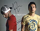 #1: Twenty One Pilots band reprint signed promo 11x14 poster photo by both B - RP