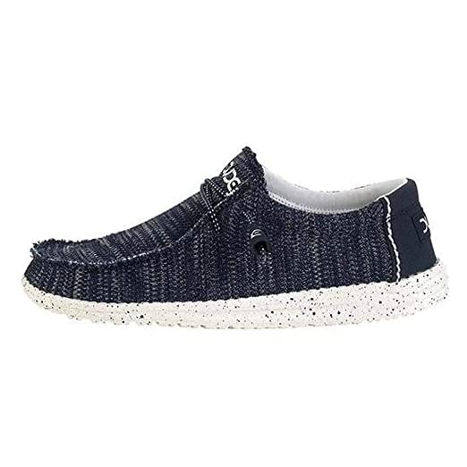 Hey Dude Wally Sox Shoes Jeans Blue at Amazon Men s Clothing store  4166d0b3be2f
